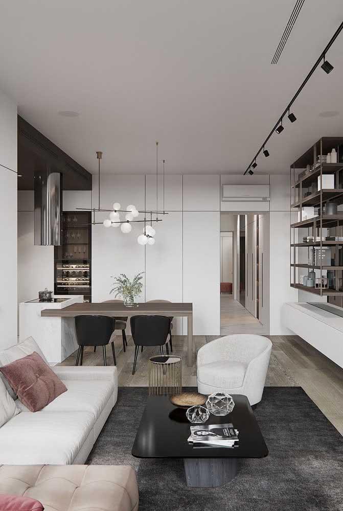 Lustre moderno para sala de jantar modelo Sputnik, o queridinho do momento