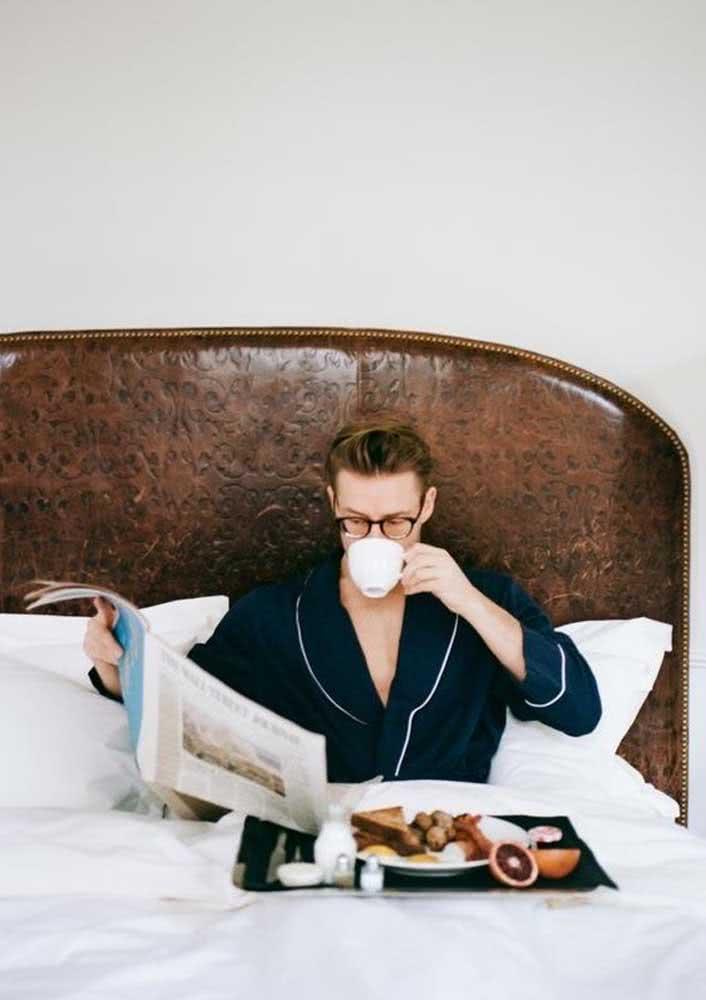 Café da manhã na cama para começar o dia de um jeito diferente