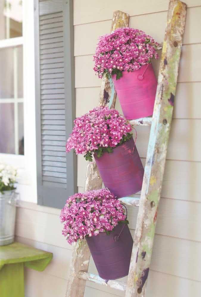 Decore sua casa com flores e espalhe cor e alegria!