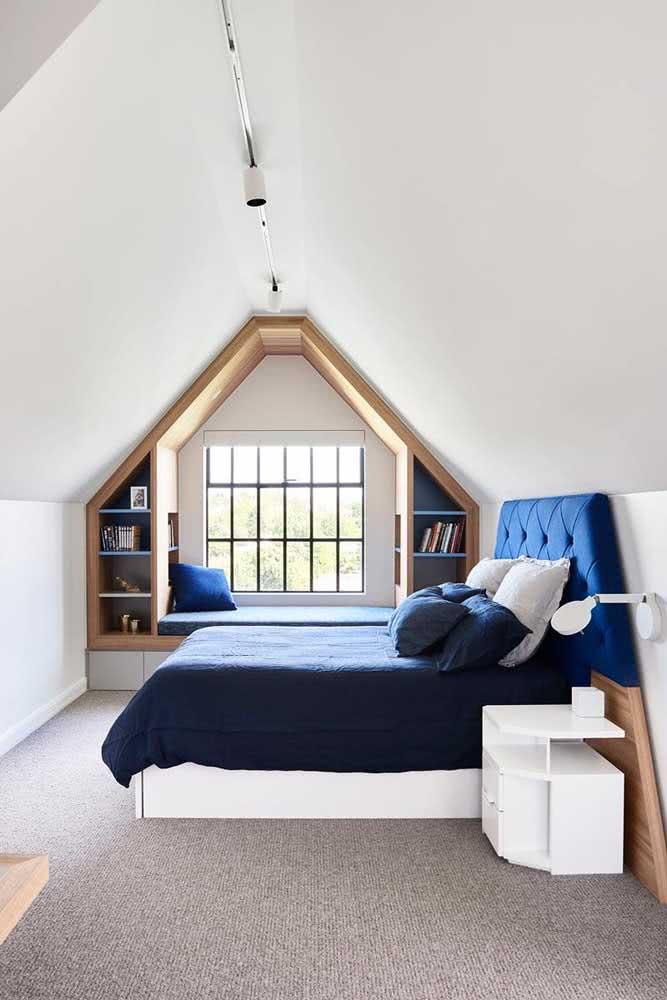 Imagina se aquele seu depósito de bagunça se transformasse em um quarto como esse?