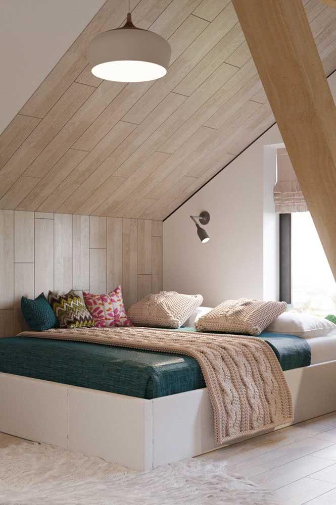 Um quarto no sótão super aconchegante e acolhedor