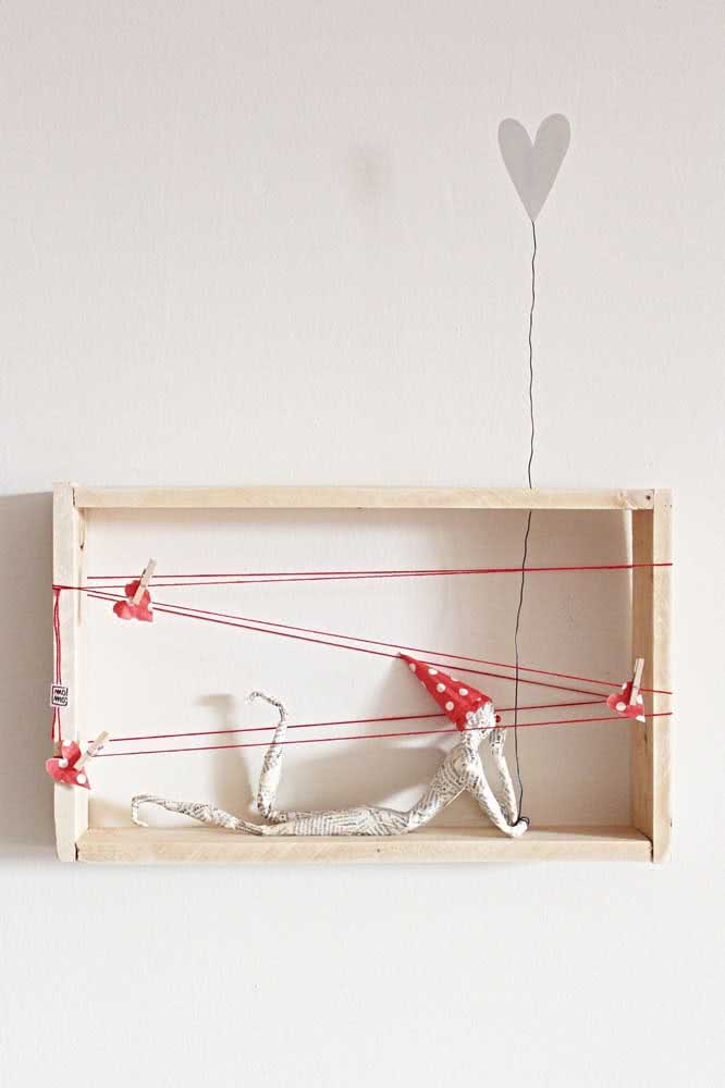 A delicadeza também tem espaço no artesanato com papel machê