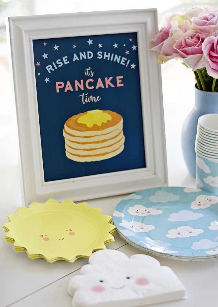 Inspiração para uma mesa de café da manhã infantil
