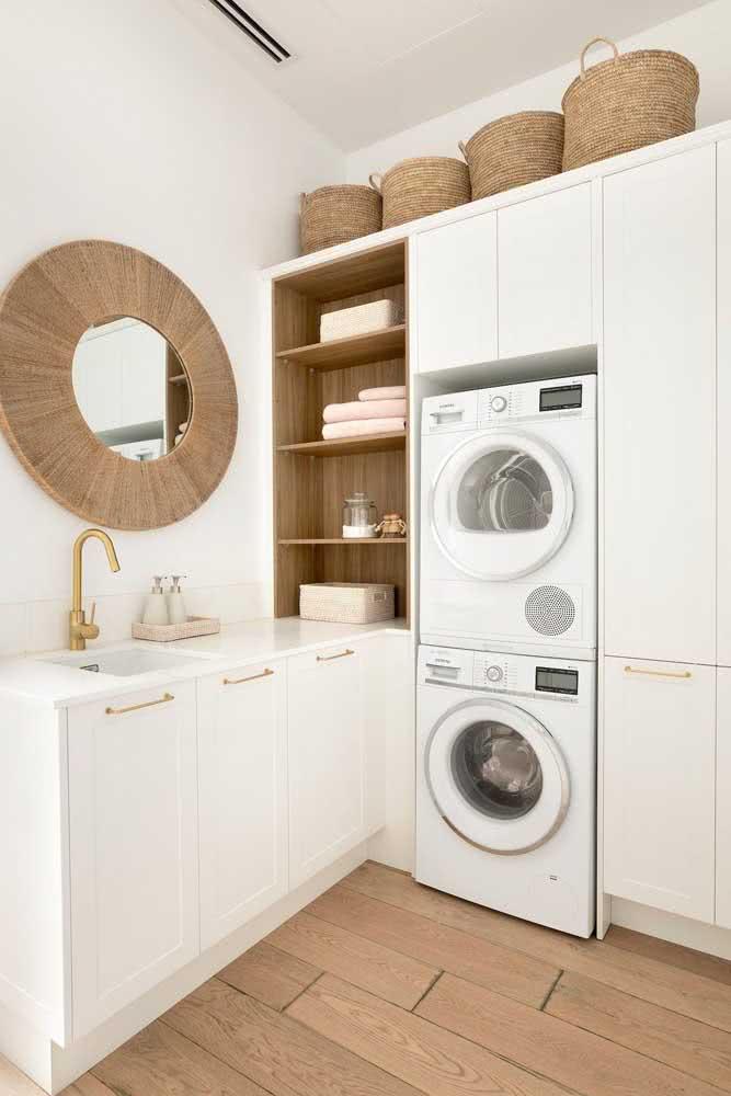 Nem parece uma lavanderia, concorda?