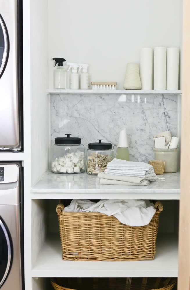Organize e decore sua lavanderia com os itens de limpeza