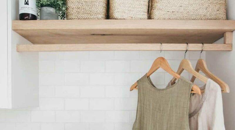 Prateleira para lavanderia: como escolher, vantagens, dicas e fotos inspiradoras