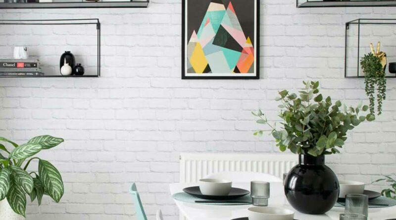 Tijolinho branco: vantagens, tipos, dicas e fotos para se inspirar