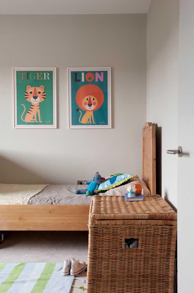 Ilustrações para a composição de quadros infantil