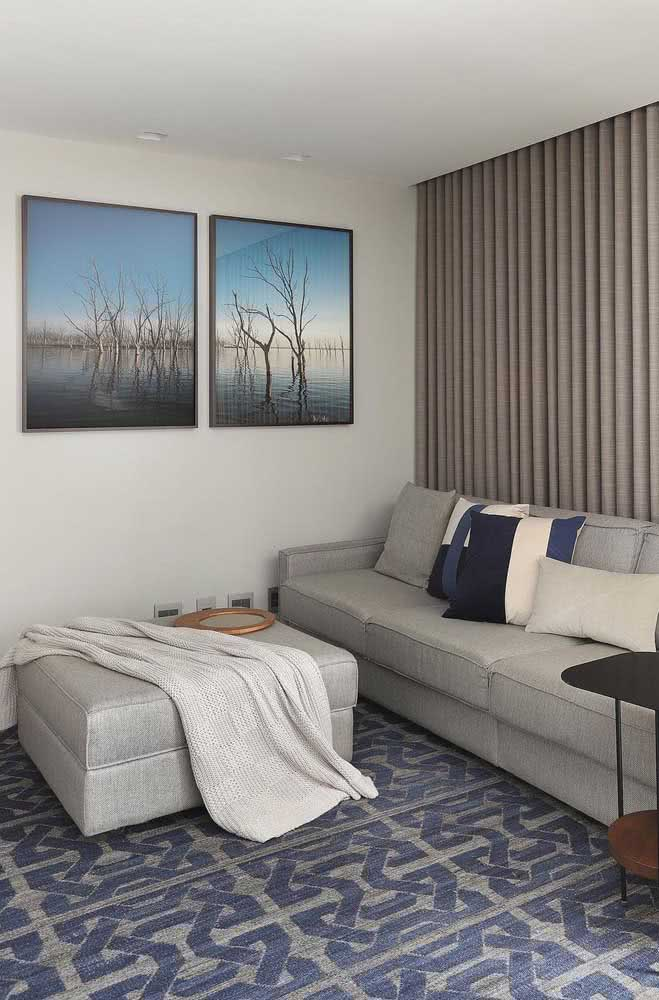 Composição de quadros de paisagens para relaxar