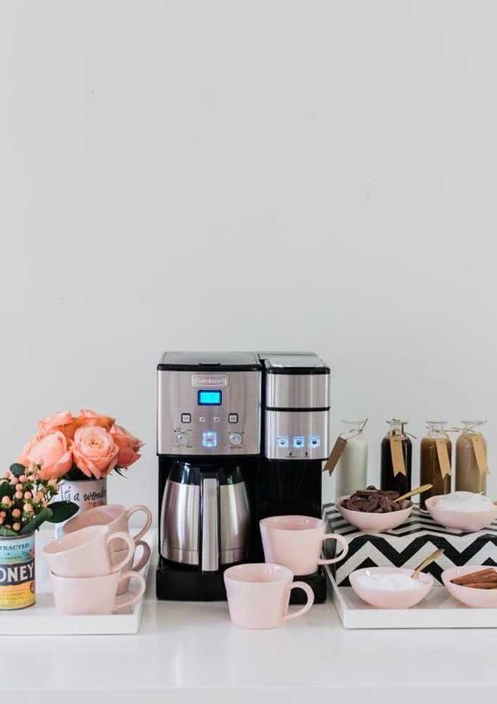 Sabe aquele seu cantinho do café? Transforme-a em mesa posta!