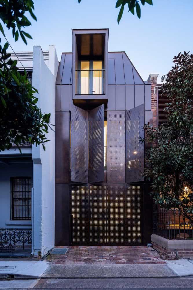 Uma arquitetura fora do comum por aqui!