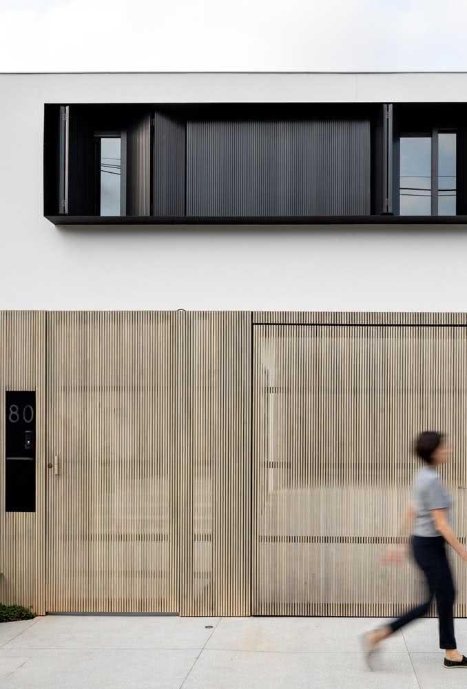Cores neutras e madeira: uma composição que sempre dá certo