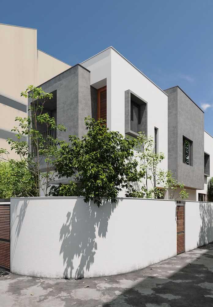 Fachada moderna de esquina para ganhar ainda mais destaque na vizinhança
