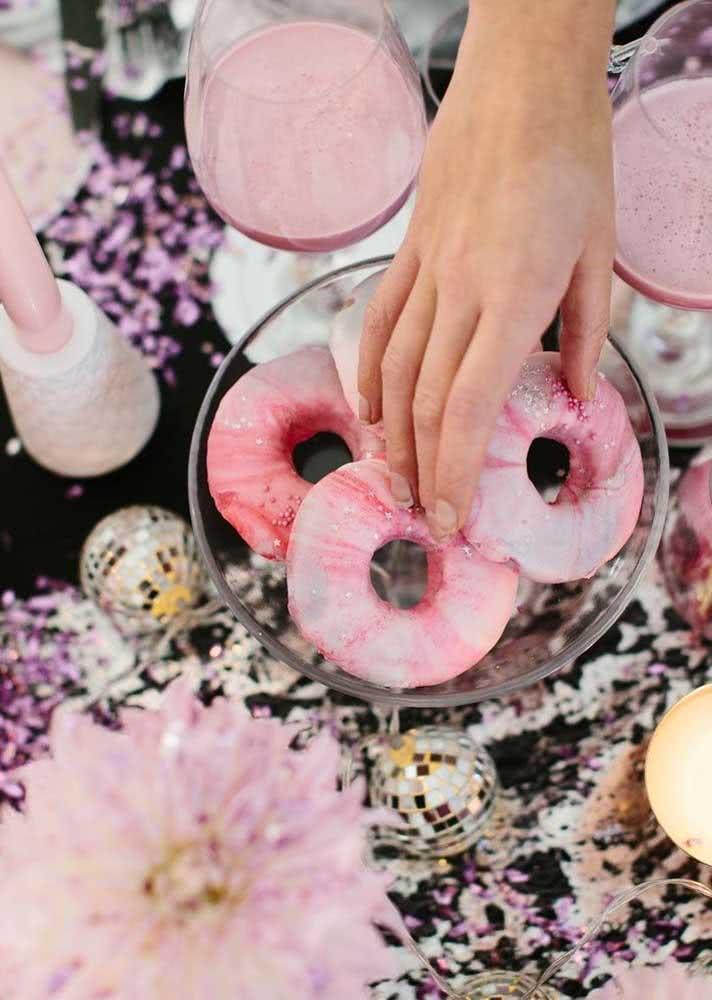E os donuts fazem a alegria da galera!