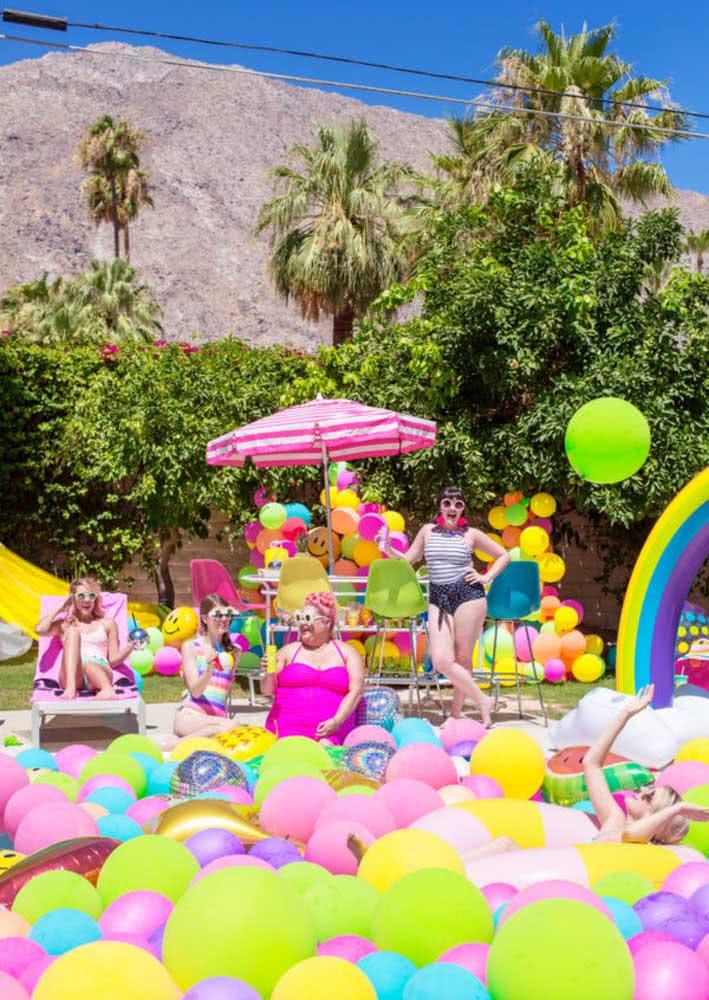 Pool Party: um ótimo tema de aniversário feminino