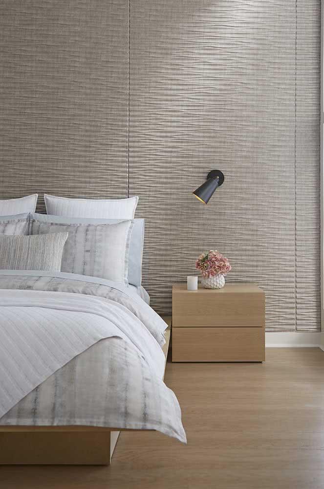 Cerâmica 3D para o quarto: elegância e modernidade a baixo custo