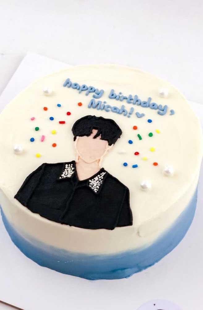 E se ao invés de decorar o bolo com os sete integrantes você escolher apenas o seu favorito?