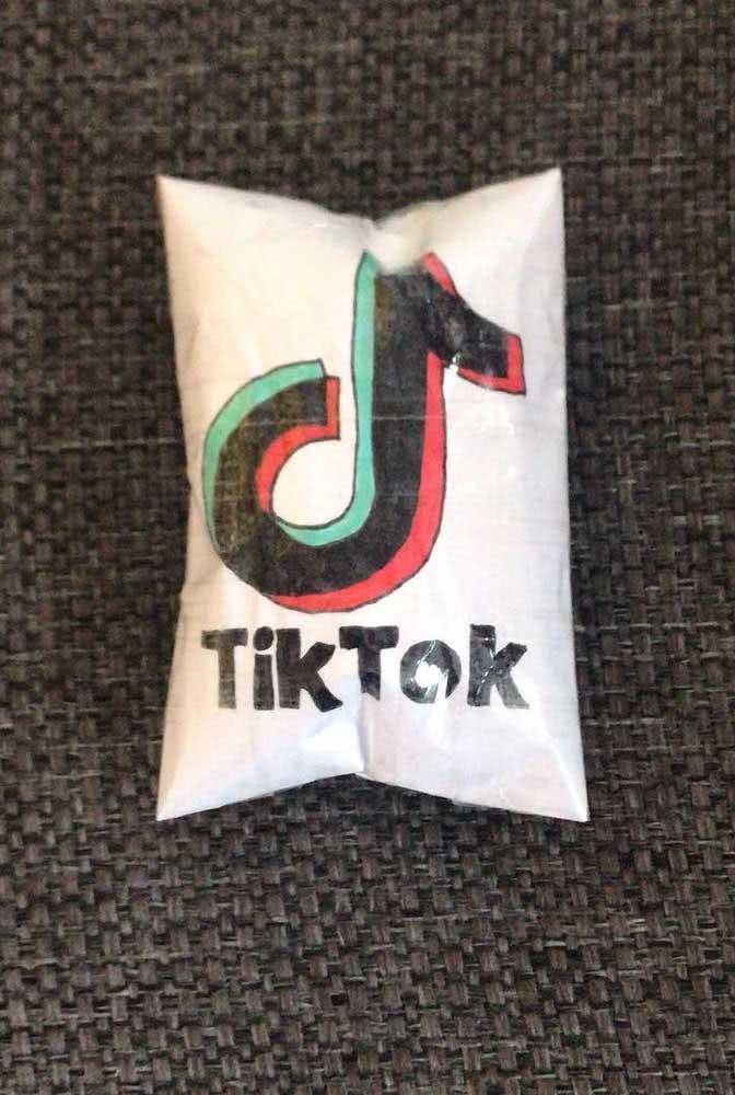 Paper squishy do Tik Tok: uma homenagem as suas redes sociais preferidas