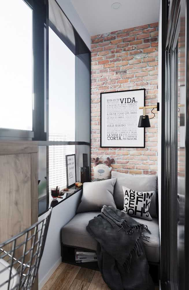 Que tal um sofá de pallet para a varanda?
