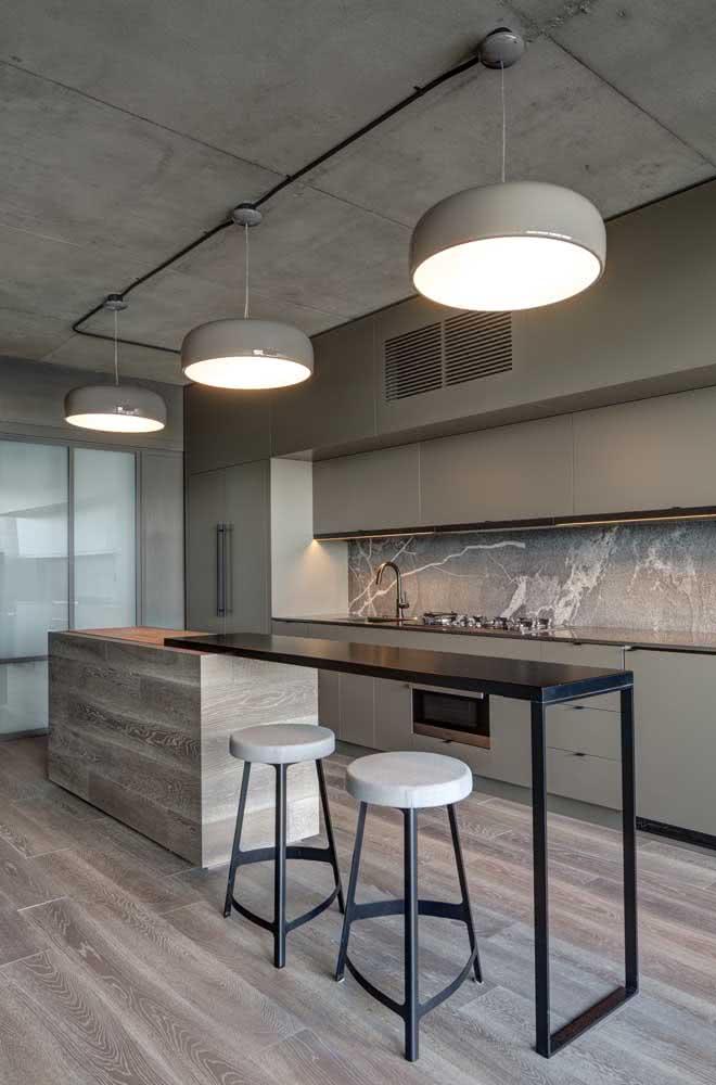 Luminária de trilho para a cozinha industrial