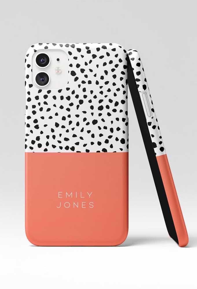 Presente para menina de 15 anos: capinha de celular personalizada
