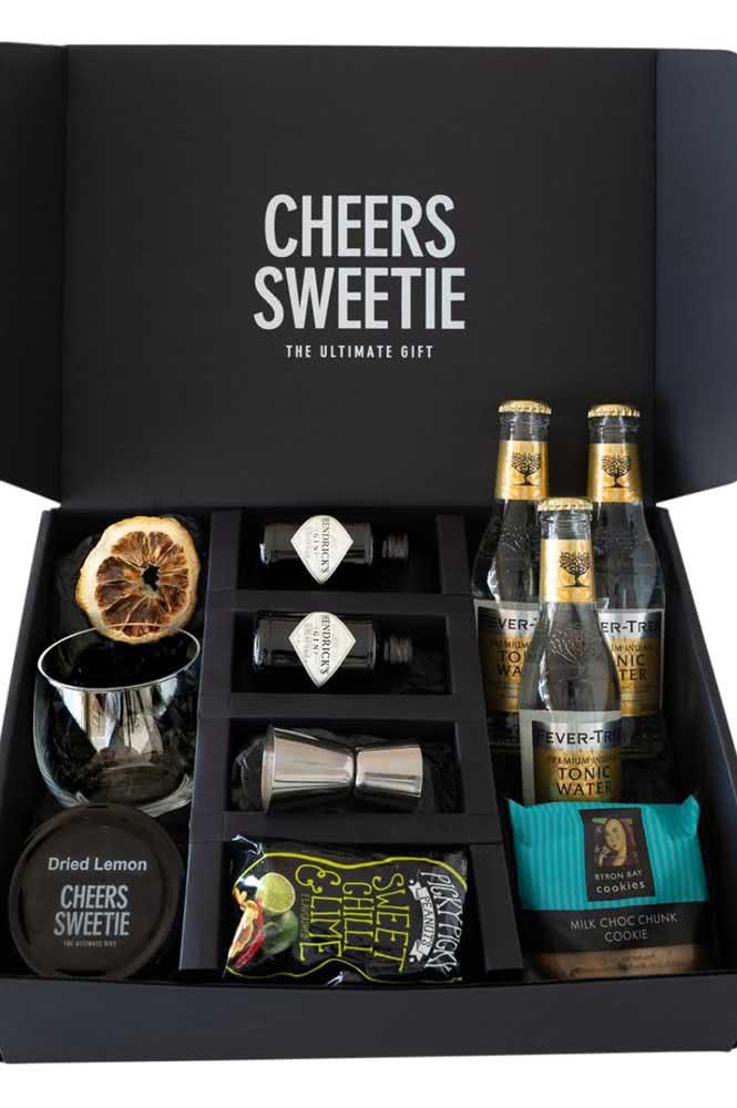 Caixa de bebida e aperitivos: um presente que sempre agrada