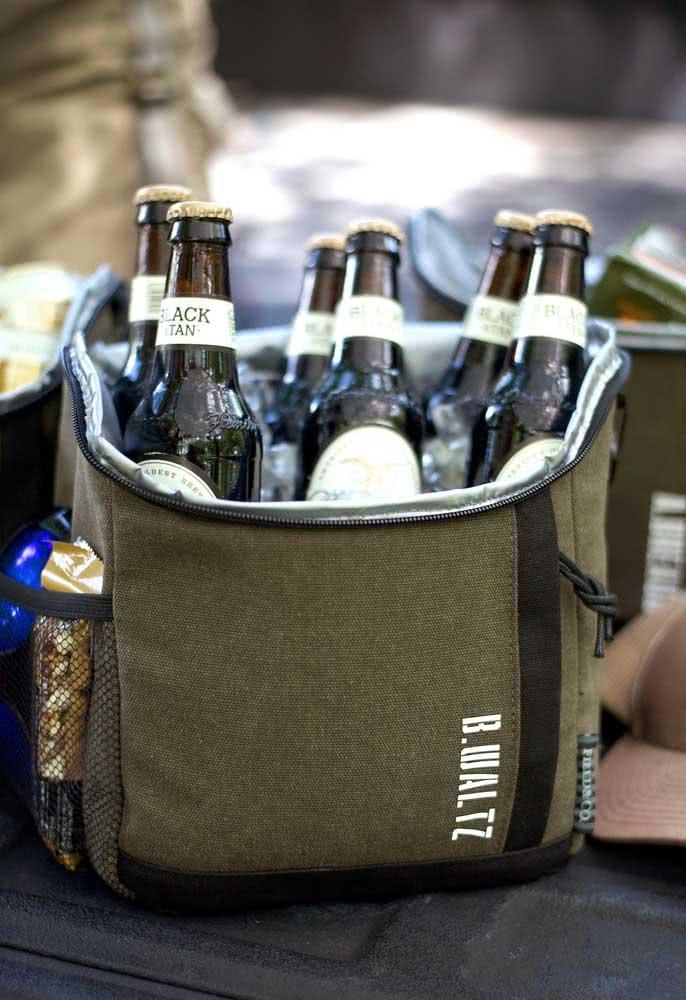 Bolsa térmica para os fãs de cerveja