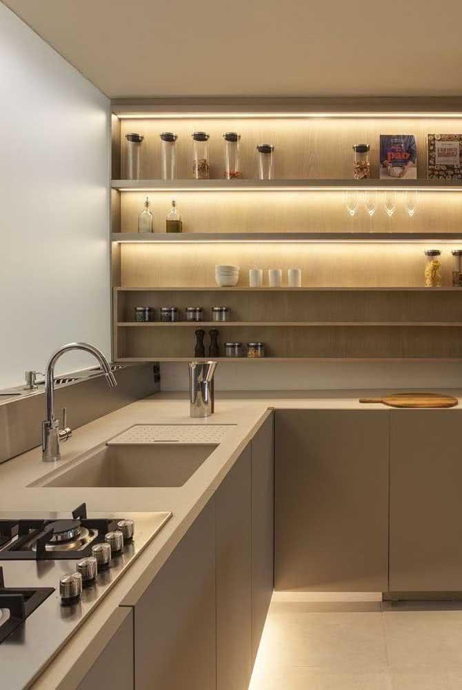 Iluminação é tudo na cozinha!