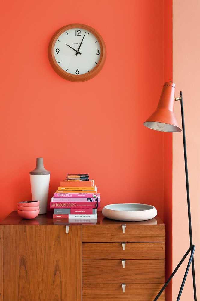 Coral e laranja: tom sobre tom para aquecer o coração