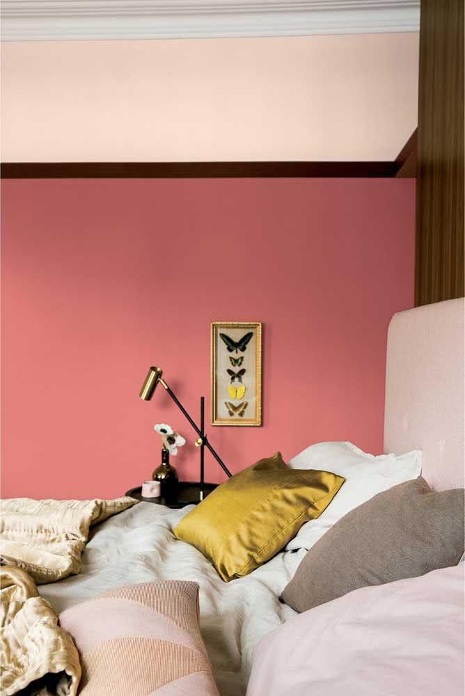 Toque de cor ao quarto de casal