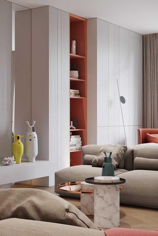 Nicho Coral: um jeito simples de levar a cor para dentro de casa