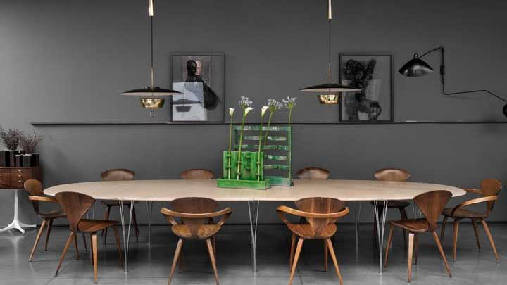 Sala de jantar grande: dicas, ideias e fotos para se inspirar