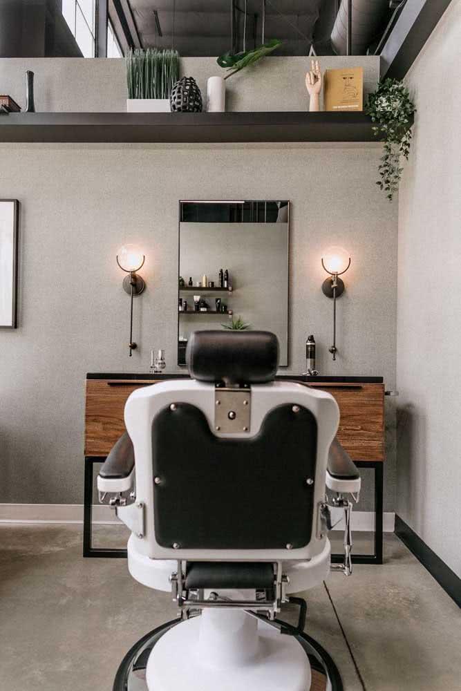 Conforto e uma decoração redondinha para atrair a atenção dos clientes