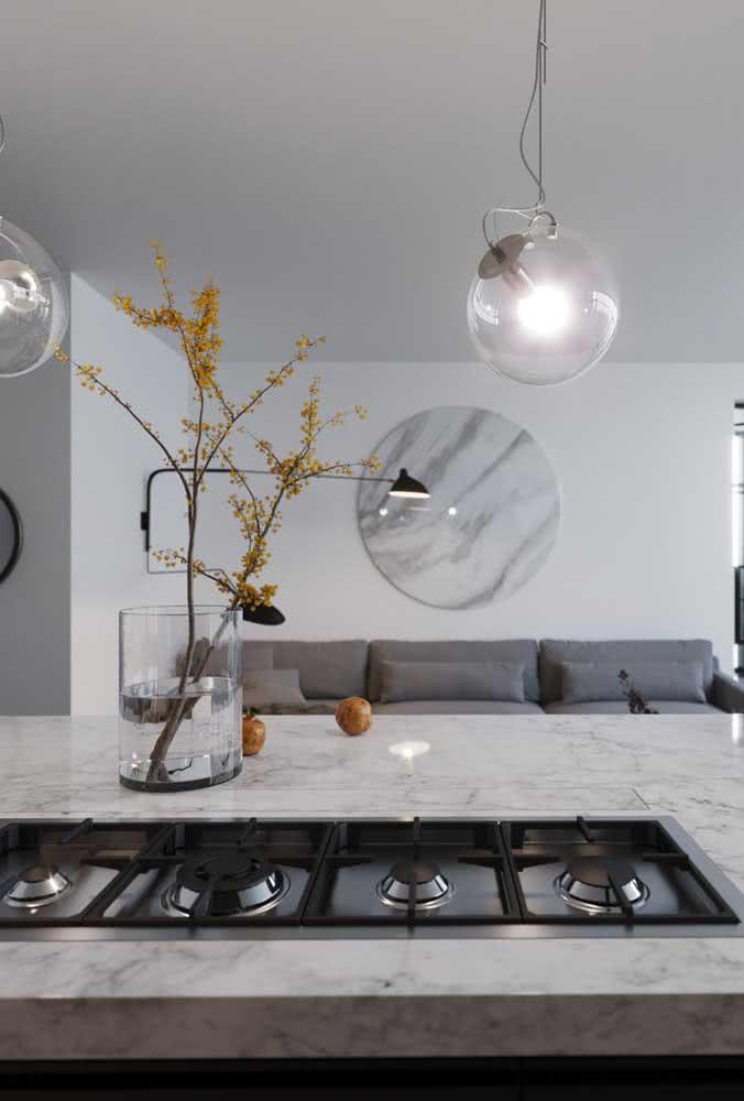 Os formatos variados de cooktop permitem que ele se ajuste a diferentes modelos de cozinha