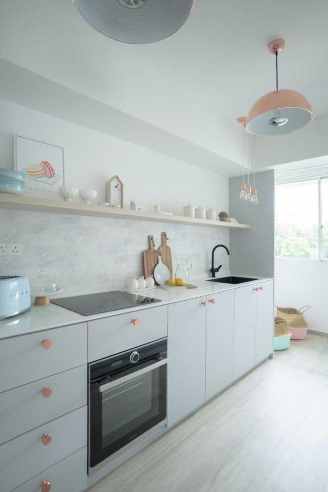 Quanto mais clean a cozinha, mais o cooktop se encaixa nela