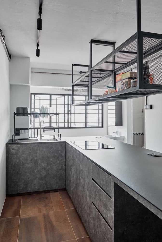 Cozinha pequena com cooktop: melhor aproveitamento do espaço