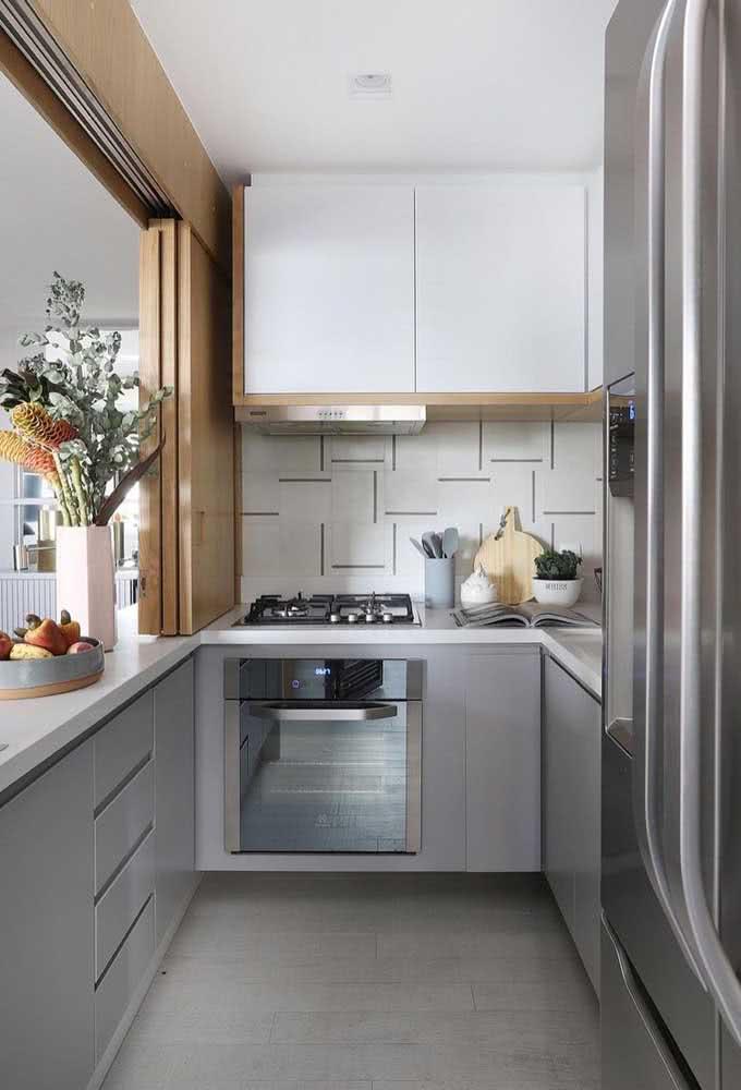Cooktop a gás com forno embutido: a cozinha planejada é a melhor opção nesse caso