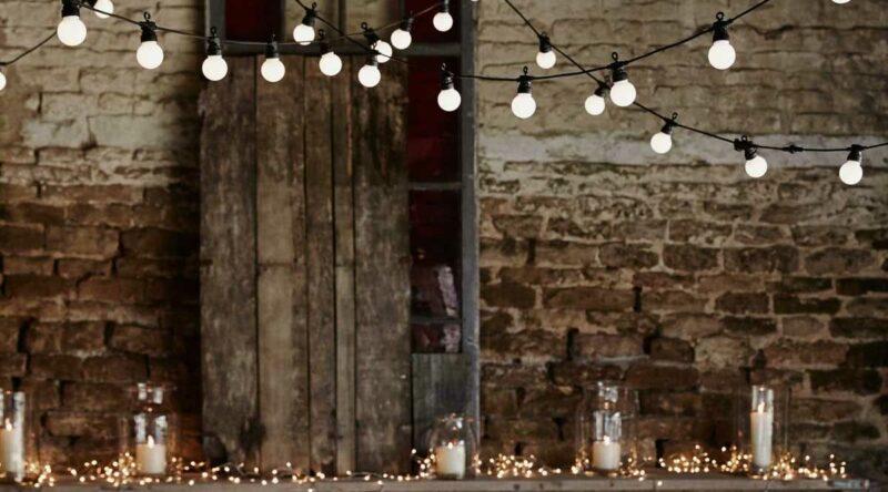 Varal de lâmpadas: onde usar, como fazer, dicas e fotos incríveis