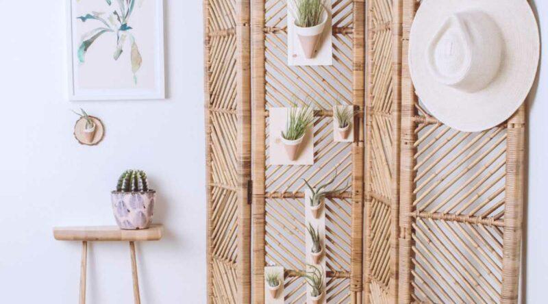 Biombo de madeira: como fazer, dicas e ideias para usar na decoração