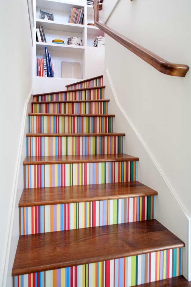 Subindo as escadas!