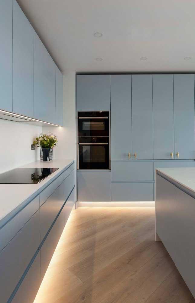 Mais clean e minimalista impossível!