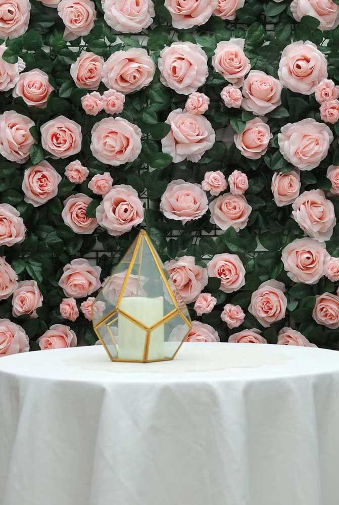Painel de rosas! As preferidas