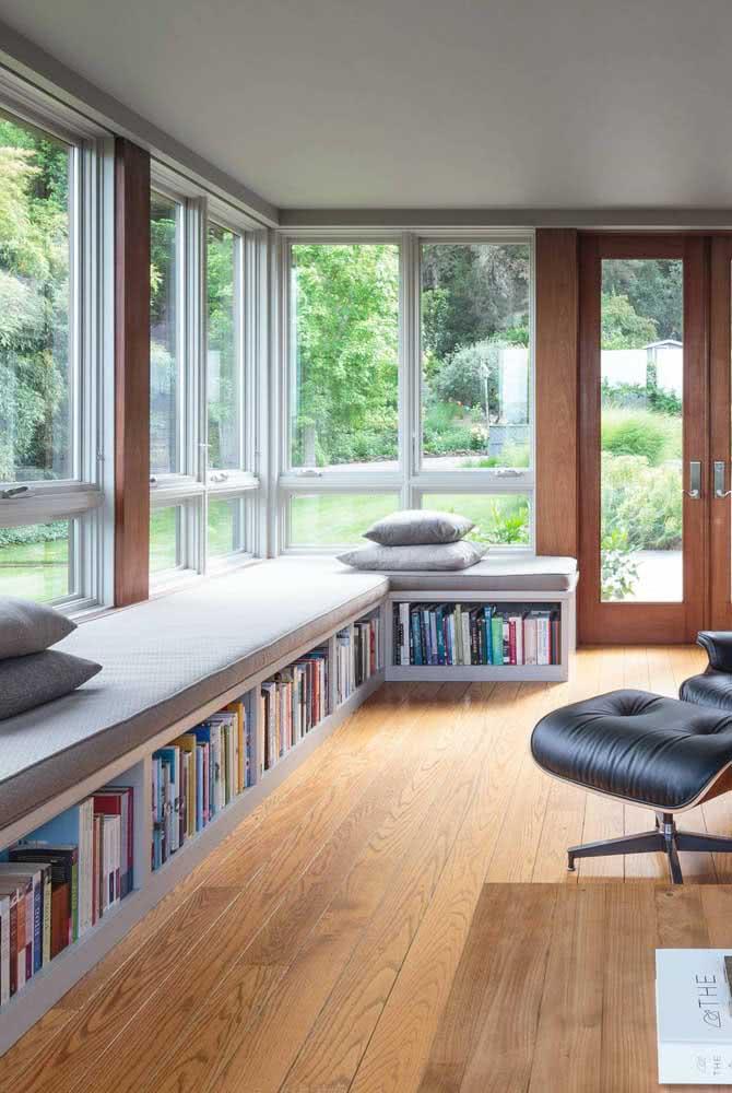 Um espaço perfeito para leitura