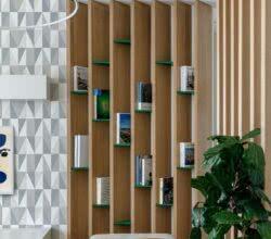 Capa decoração com livros