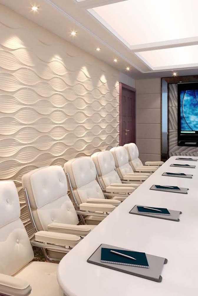Um toque de elegância para a sala de reuniões