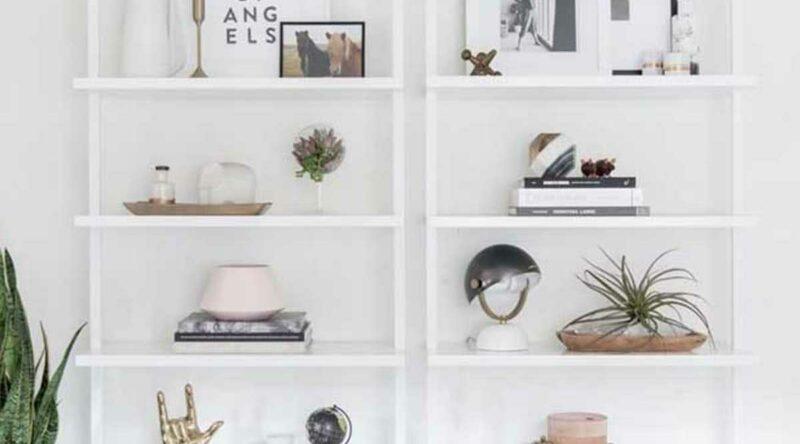 Estante branca: vantagens, dicas para escolher e fotos inspiradoras