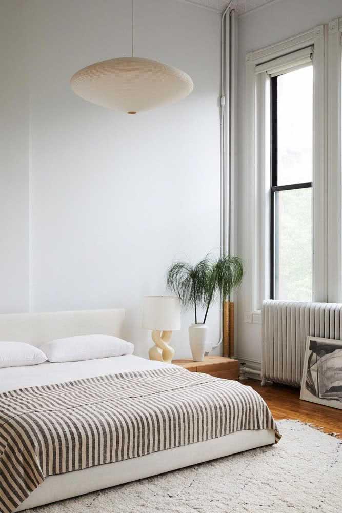 Quartos, por natureza, pedem pelo estilo minimalista