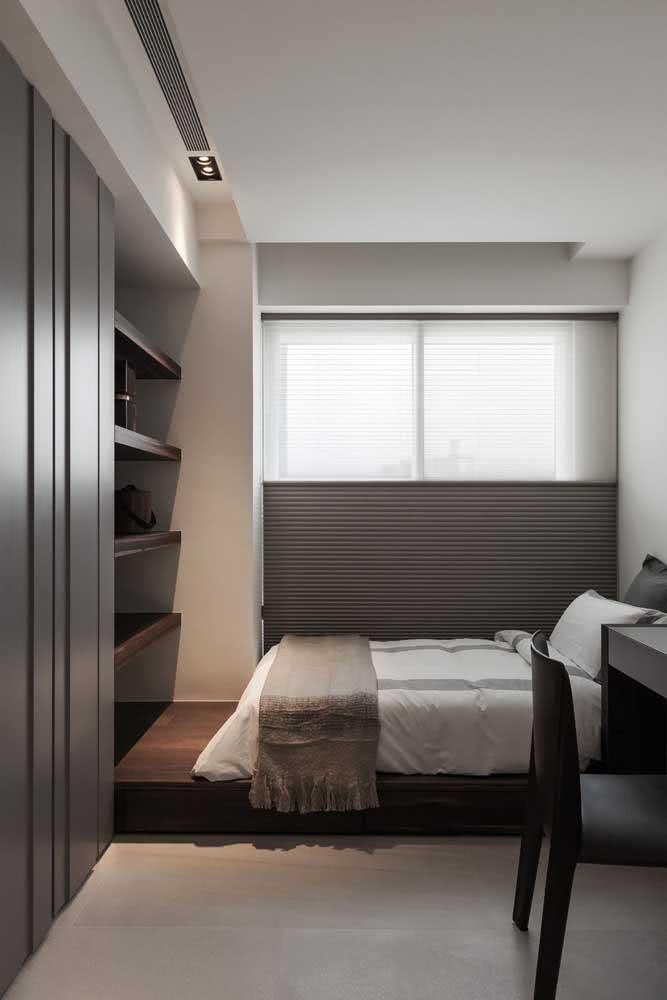 Ambientes pequenos têm muito a ganhar com o minimalismo