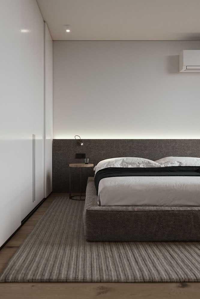 Texturas e cores harmônicas são outra característica do minimalismo