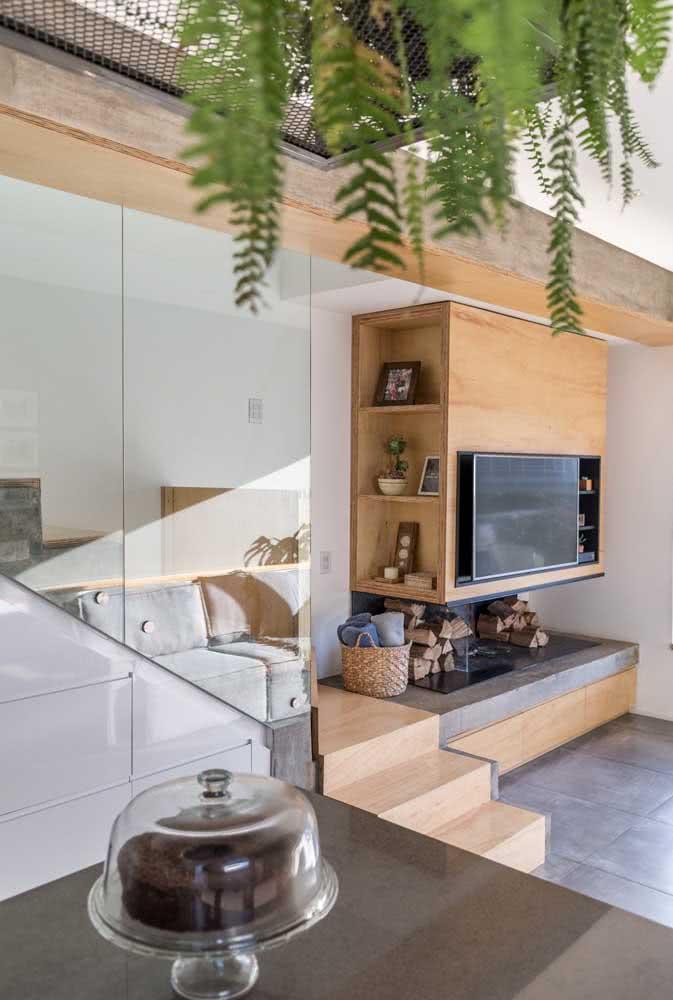 Casa simples por dentro com soluções práticas em marcenaria